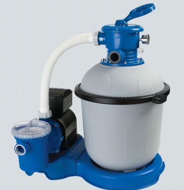 Intex krystal clear sand filter pump 2650 gall hr pool for Intex pool pumps