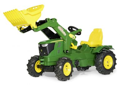 Rolly John Deere 6210R Tractor With Frontloader And Pneumatic Tyres