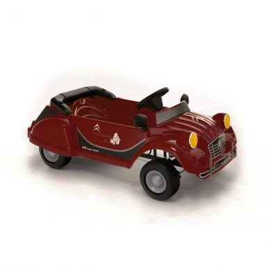 CHARLESTON 2CV Red Metallic Pedal Car