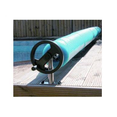 Premium reel for above ground pools pool reels for Above ground pool reel ideas