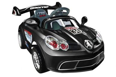 6 Volt Mercedes SLS Battery Powered Ride On Super Car GBA088 - Black