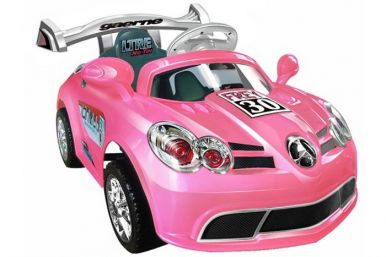 6 Volt Battery Powered Ride On Super Car GBA088 - Pink