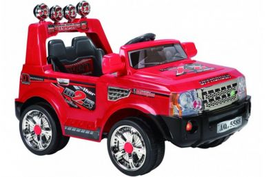 12 Volt Battery Powered Ride On Rangie GB012B -  Red