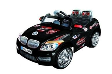 6 Volt Battery Powered BMW Ride On Car - Black