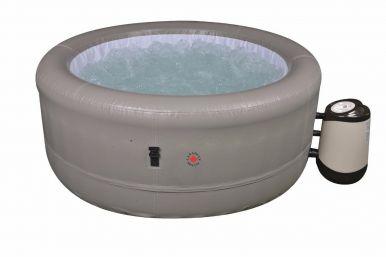rio grande plug u0026 play inflatable hot tub
