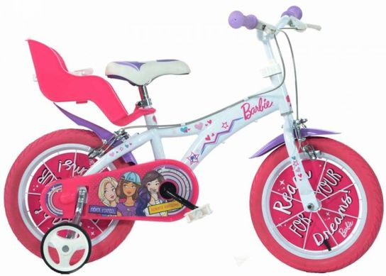 Dino Bicycles - Barbie Bicycle 12""