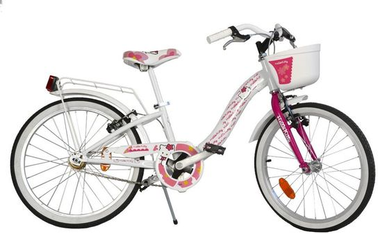 Dino Bicycles - Hello Kitty Bicycle 20""