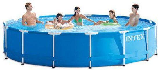 intex ultra metal frame round pool 16ft x 48 available via PricePi ...
