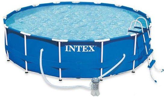 Intex Metal Frame Pool Package 15ft x 48\