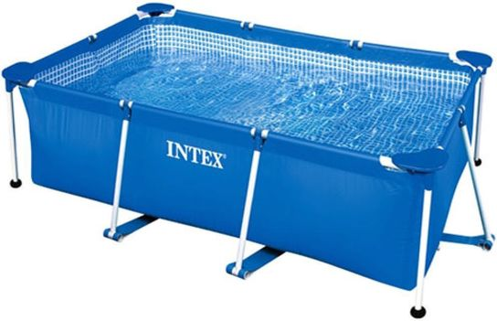 Intex Rectangular Metal Frame Pool No Pump 102 1/2