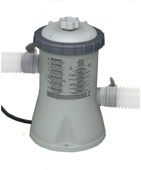 Intex pool filter pump 330 gall hr for Pool filterpumpe obi