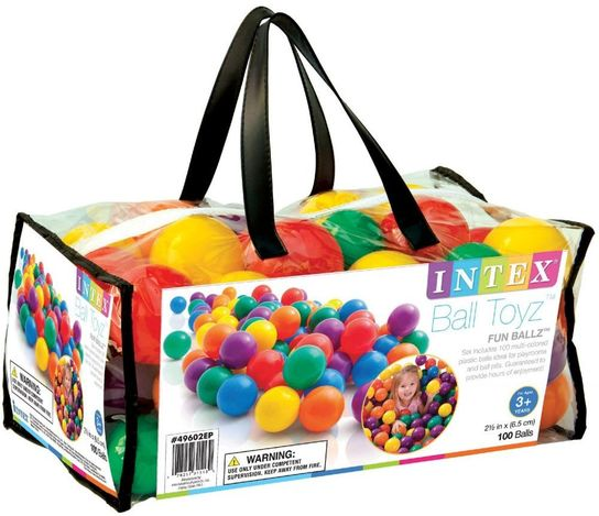 Intex 100 Small Fun Ballz - 49602