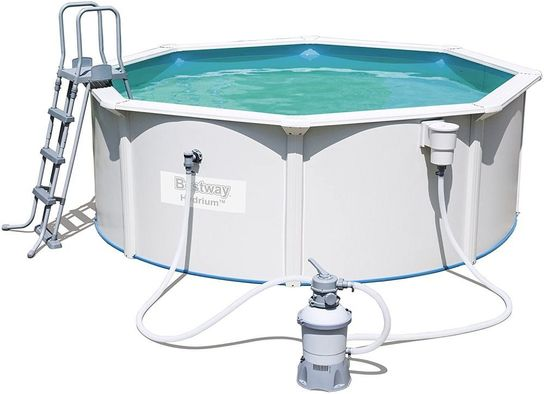 Bestway Hydrium Poseidon Steel Pool Package 12ft x 48\