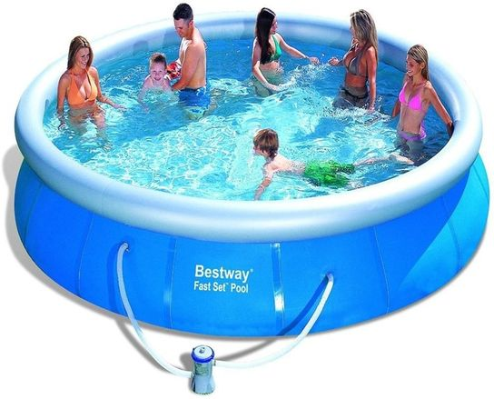 Bestway Fast Set Round Inflatable Pool 15ft X 36 57121