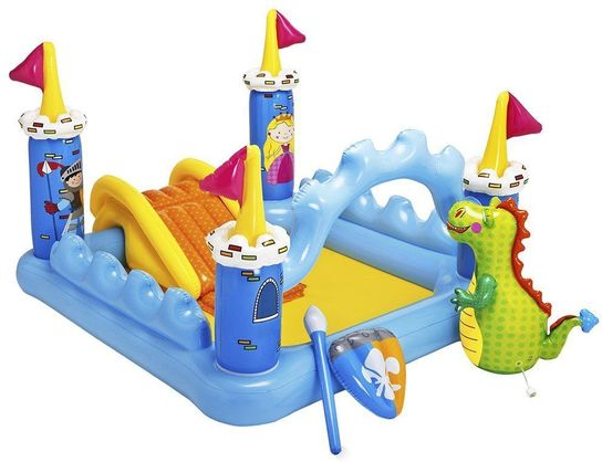 Fantasy Castle Play Centre Paddling Pool - 57138