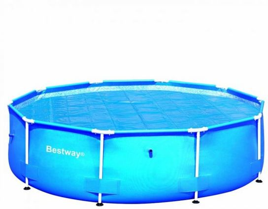Solar Pool Cover For 12ft Round Metal Frame Pools
