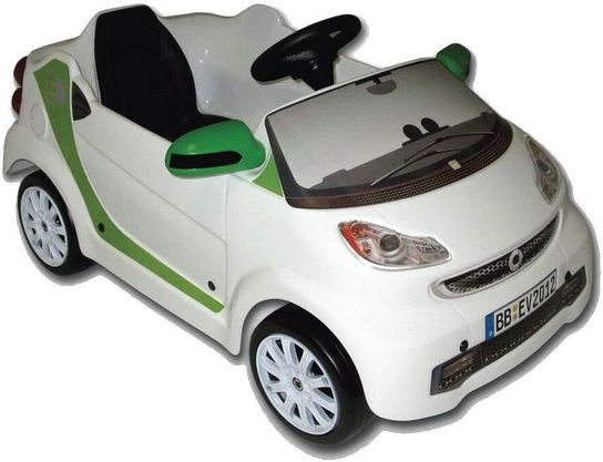 SMART FORTWO ECO White Electric 6V