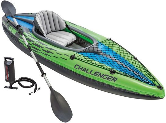 1 Challenger Kayak 1 Man Inflatable With Oars - 68305 by Intex
