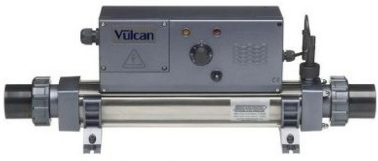 Vulcan Analogue Electric 12kW Single Phase Pool Heater by Elecro