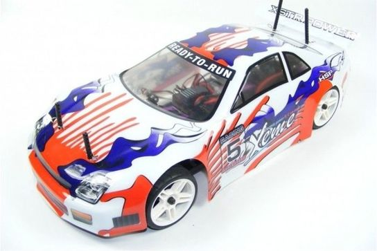 Rc Hsp Electric Powered 1 10 Honda Prelude Touring Car White