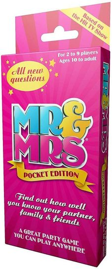 Mr And Mrs Pocket Edition Card Game