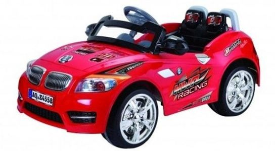 6 Volt Battery Powered BMW Ride On Car - Red