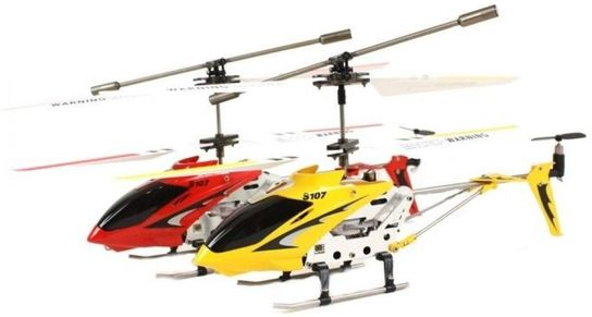 3 Channel Syma S107G RC Helicopter RTF with Gyro