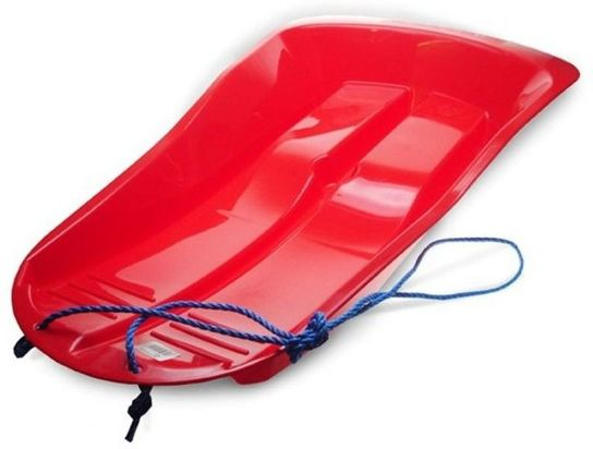 Snow Wing Red Sledge Toboggan