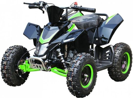 Hawkmoto SX-49 Racing Style Mini Quad Bike - Green