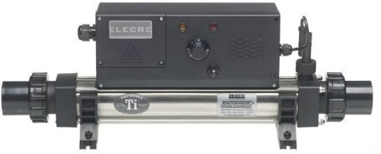 Vulcan Analogue Electric 6kW Single Phase Pool Heater by Elecro
