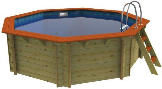 Wonderful Plastica Octagonal Wooden Pool 4m Knightsbridge