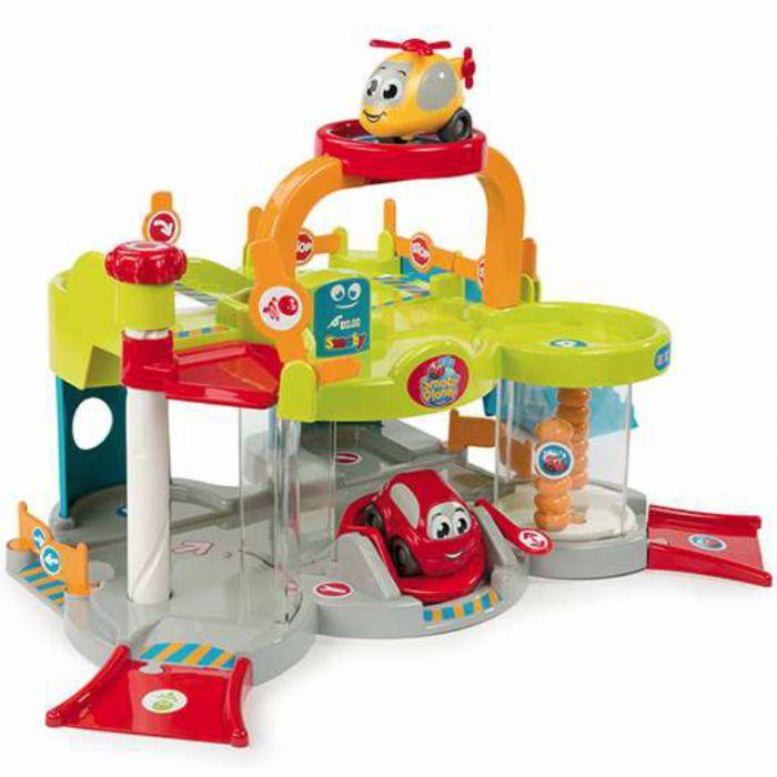 Simba smoby vroom planet my first garage action figures roleplay - Smoby vroom planet garage ...