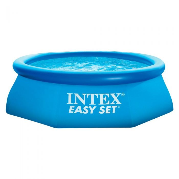 intex easy set inflatable pool 8ft x 30 with pump 28112. Black Bedroom Furniture Sets. Home Design Ideas