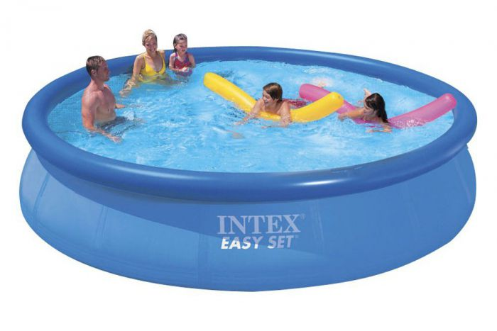 Intex easy set inflatable pool 15ft x 36 no pump 28160 Inflatable quick set swimming pool