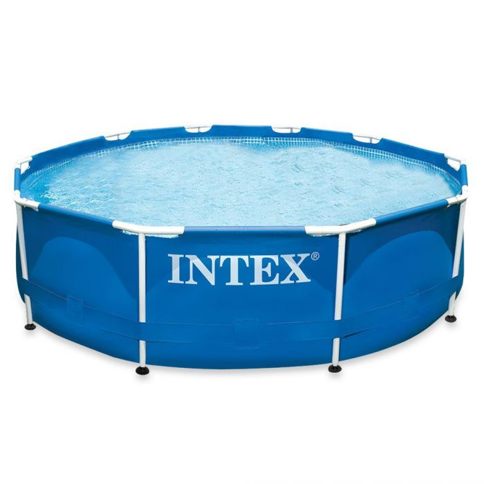 Intex Metal Frame Pool 10ft X 30 No Pump 28200 Metal Frame Round Pools