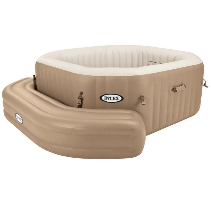 intex purespa bench seat for octagonal purespa spa accessories. Black Bedroom Furniture Sets. Home Design Ideas