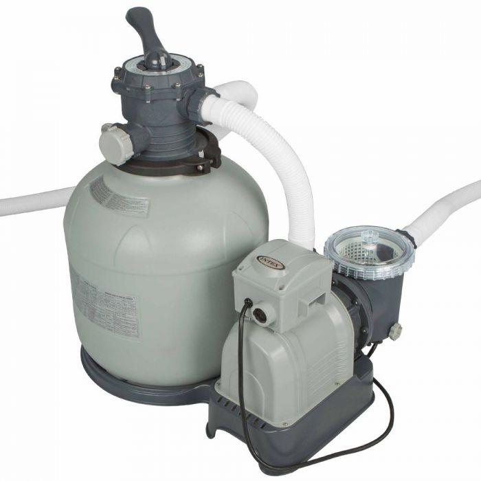 intex krystal clear sand filter pump 3200 gall hr pool. Black Bedroom Furniture Sets. Home Design Ideas