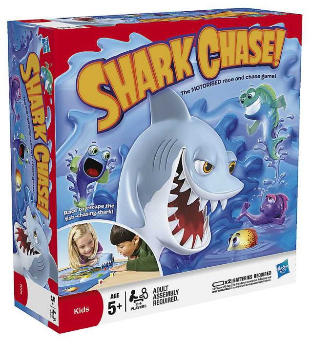 Shark Toys And Games : Hasbro shark chase game puzzles games