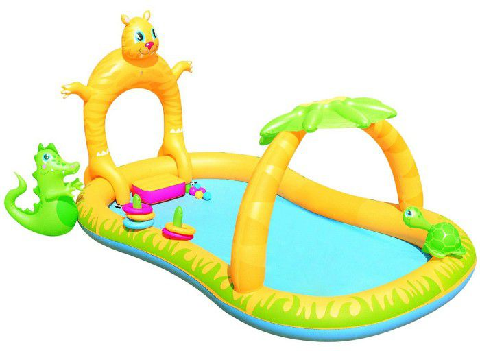 Jungle Safari Play Centre Paddling Pool - 53030 Thumnail #0