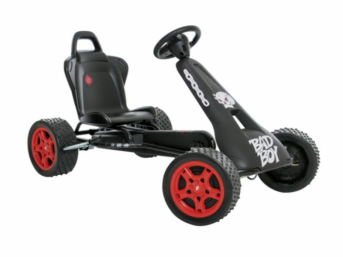 Ferbedo Cross Runner Go-Kart Black Thumnail #0