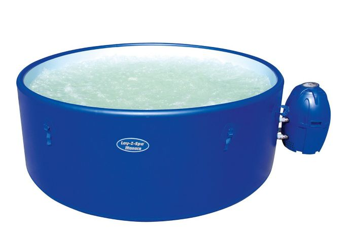Lay Z Spa Monaco Rigid Portable Hot Tub Thumnail #0