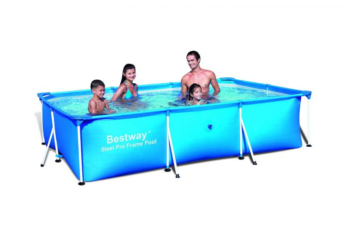 rectangular frame paddling pool 118 bestway swimming pools. Black Bedroom Furniture Sets. Home Design Ideas