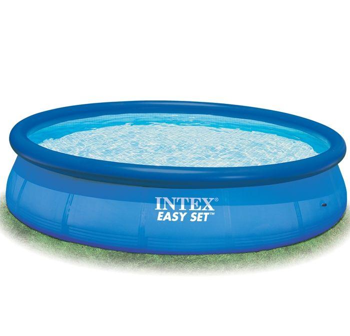 intex easy set inflatable pool 12ft x 36 no pump 28144. Black Bedroom Furniture Sets. Home Design Ideas