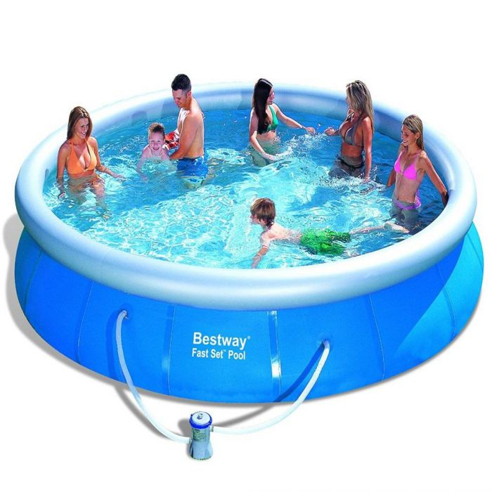 Bestway Fast Set Round Inflatable Pool 15ft X 36