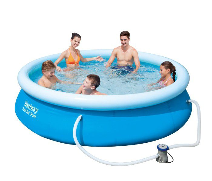 Bestway Fast Set Round Inflatable Pool 10ft X 30