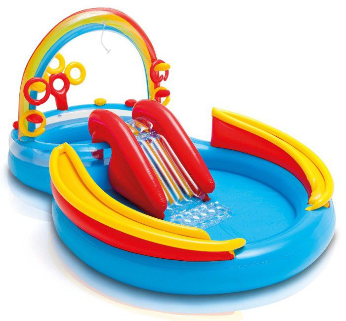 Rainbow Ring Play Centre Paddling Pool - 57453 Thumnail #0