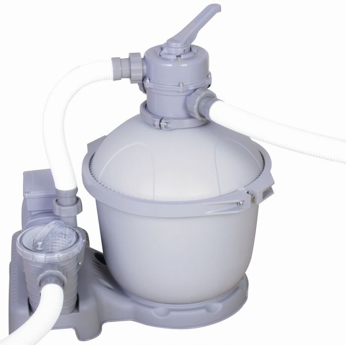 Bestway 1500 Gallon Flowclear Sand Filter Pump Pool Pumps Filters Counter Current