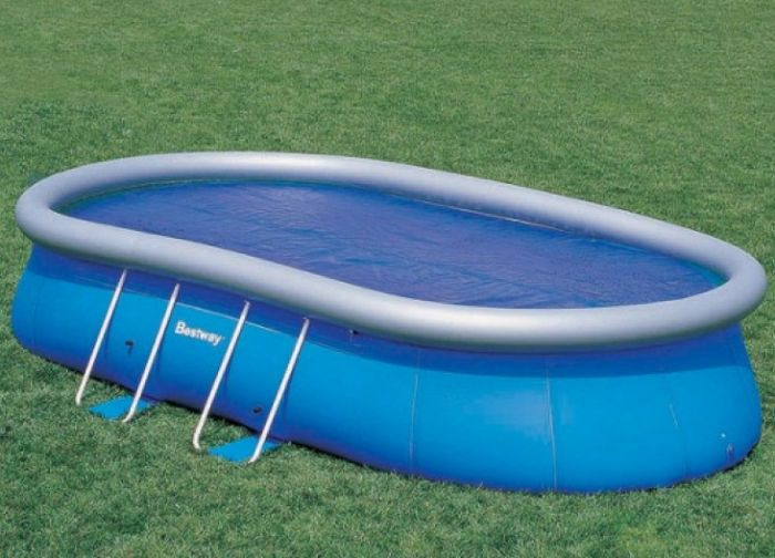 Solar Pool Cover For 16ft X 10ft Oval Pools Pool Covers