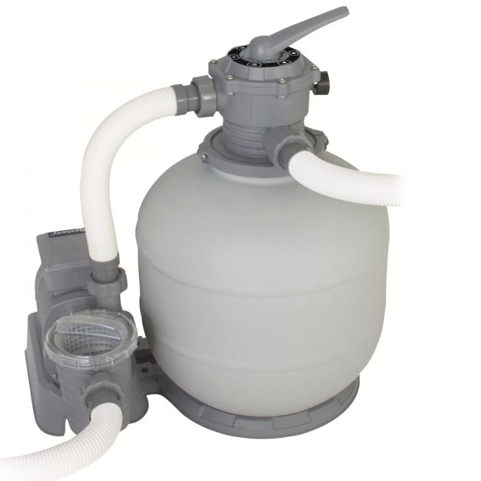 Bestway 2000 Gallon Flowclear Sand Filter Pump Pool Pumps Counter Current