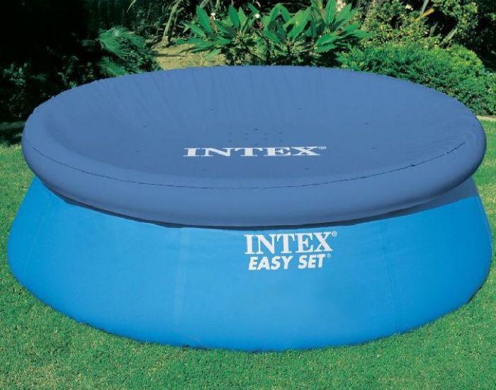 8ft winter debris pool cover intex easy set pool. Black Bedroom Furniture Sets. Home Design Ideas